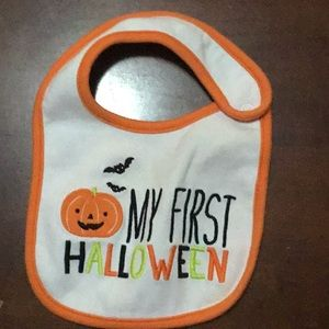 cute First Halloween bib